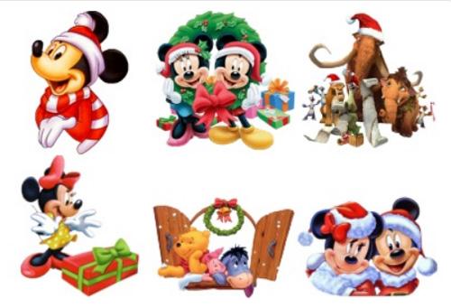 Мультиплікаційні різдвяні іконки