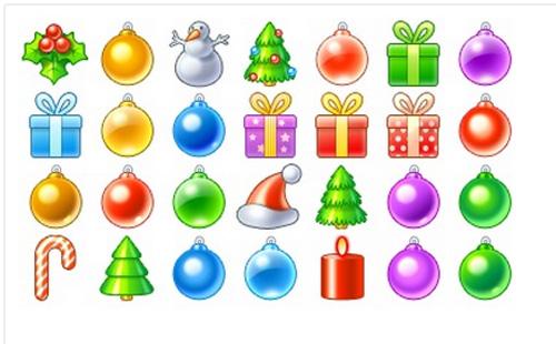 Різдвяні іконки від Icojam