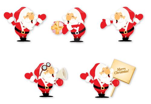 Різдвяна колекція Дідів Морозів