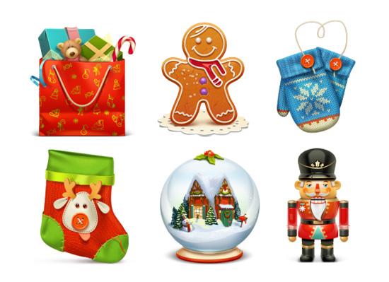 Колекція різдвяних іконок