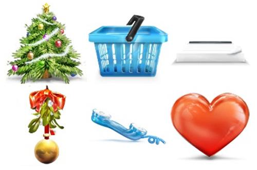 Різдв'яні іконки для електронної комерції