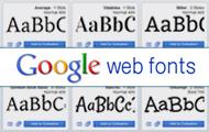 Google Web Fonts: великий вибір безкоштовних шрифтів і легке встановлення