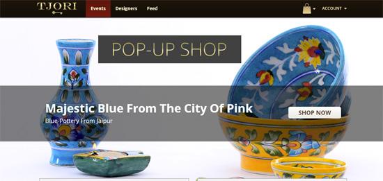 Інтернет магазин приватних продажів Tjori